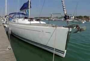 Dufour moored